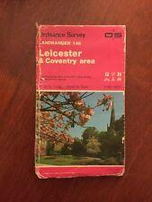 Leicester & Coventry Area Ordnance Survey Landranger Map Sheet 140