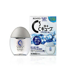 """E29 Japan Rohto C3 Medicated """"ICE COOL"""" Eye Drops for Contact Lens Users 13ml"""