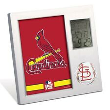 ST. LOUIS CARDINALS ~ Official MLB Team Desk Alarm Clock ~ New!