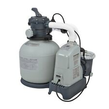 Intex 1600 GPH Saltwater System & Sand Filter Pump Swimming Pool Set | 2867