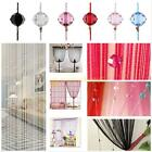 Door Room Window Beads Crystal String Curtain Beads Wall Panel Fringe Divider