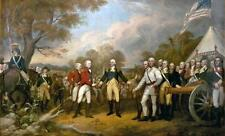 TOP ART WORK  # American Revolutionary War  PRINT oil painting ON CANVAS