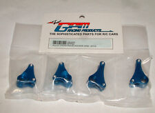 TRAXXAS MINI E-REVO 1/16TH GPM BLUE ALUMINIUM FRONT & REAR ROCKER ARM ERV027