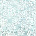 4 Single Table Party Paper Napkins for Decoupage Decopatch Craft Blue Lace