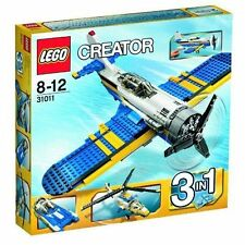 LEGO 31011 Creator Aviation Adventures  Plane, Speedboat, Helicopter 3 in 1 Set