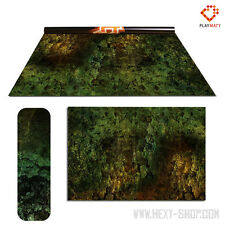 Orc Lands / Amethyst land – Double-Sided 72″ x 48″ Mat for Battle Games