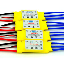 4 x 30A Brushless 450 Helicopter Multicopter Motor Speed Controller Rc Esc