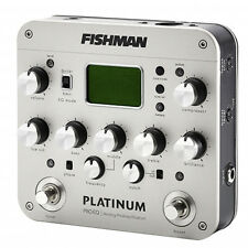 FISHMAN Pro Platinum EQ Acoustic Guitar Preamp Pedal DEMO
