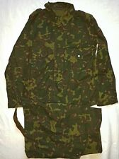 Russian Army tankers  camo suit jacket pants  50-2 Butane  camouflage Hot Region