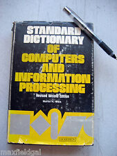 Used 1977 Std Dictionary of Computers & Info Processing, Martin H. Weik, Revised