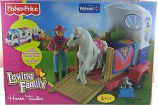 Fisher Price Loving Family Horse Trailer And Pony Brand New in Sealed Box