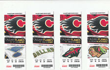 CALGARY FLAMES VS MINNESOTA WILD FULL TICKET STUB 2/11/13 WILD 2-1 SHOOTOUT WIN