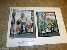 ONE OF KIND DAN MARINO PROOF FRONT PAGE SPORTS VIDEO GAME PROOFS & RACING  1998