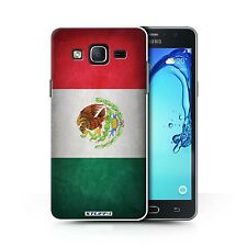 STUFF4 Back Case/Cover/Skin for Samsung Galaxy On5/G550/Flags