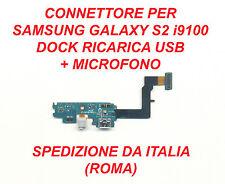 CONNETTORE RICARICA USB E MICROFONO FLAT DOCK X SAMSUNG GALAXY S2 i9100