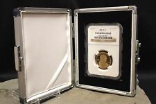 Single Slab Coin Storage Box Aluminum PCGS NGC ANACS Certified Vault GUARDHOUSE