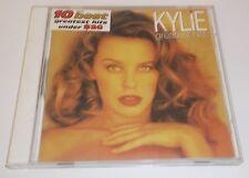 KYLIE GREATEST HITS ALBUM MUSIC CD MUSHROOM RECORDS 1998