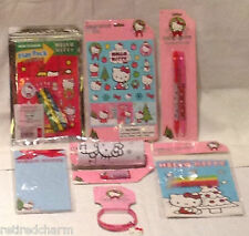 ❤️HELLO KITTY LOT �� Christmas �� Stocking Stuffers Party Favors NEW *7 pc  #2❤️