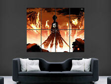 ATTACK ON TITAN MANGA  WALL POSTER ART PICTURE PRINT LARGE