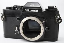 Nikon Nikormat EL 35mm SLR Film Camera Body Only #H009d
