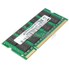 2GB (1X2GB) DDR2-800 PC2-6400 NON-ECC SODIMM Notebook Laptop Memory RAM 200-Pin