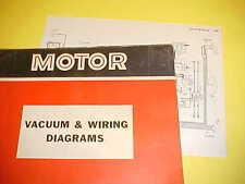 1965 1966 1967 VOLKSWAGEN KARMANN GHIA BEETLE CONVERTIBLE 1600 WIRING DIAGRAMS