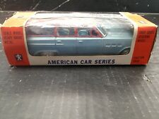 "BANDAI FRICTION DRIVE TIN BUICK ESTATE WAGON ""AMERICAN CAR SERIES"" with box"