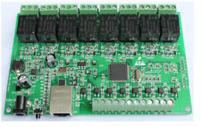 8 -Channel relay network IP Relay Web Relay dual control
