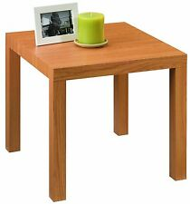 Modern Natural Wood Grain End Table Living Room Furniture Coffee Lamp Stand NEW