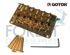 GOTOH Guitar fixed Bridge GTC12, 12 strings, Gold