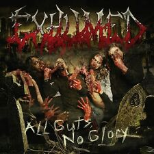 """EXHUMED """"All Guts, No Glory"""" death grind metal CD"""