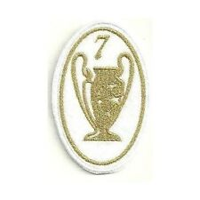 [Patch] CHAMPIONS LEAGUE 7 versione oro cm 5 x 7,5 toppa ricamata ricamo -257