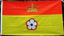 NEW 5 x 3 FOOT (150x90cm) HAMPSHIRE COUNTY FLAG BRASS RINGS