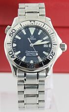 AUTHENTIC OMEGA SEAMASTER 2263.80 PROFESSIONAL MIDSIZE ELECTRIC BLUE MENS WATCH