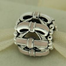 Authentic Pandora 791778EN40 Sweet Sentiments Pink Ribbons Silver Bead Charm