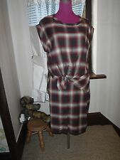 Simply Stunning All Saints Heny Check Dress Size 12 Excellent Condition
