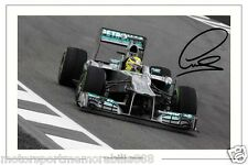 Lewis Hamilton SIGNED 6x4 PHOTO F1 FORMULA ONE MERCEDES