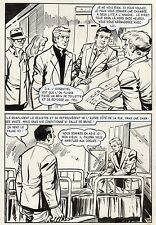 LE SBIRE DE BIRMANIE  (LEOPOLD SANCHEZ) PLANCHE OSS 117 AREDIT PAGE 30