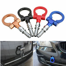 RED Aluminum Car Tow Towing Racing Trailer Hook for BMW E30/E36/E46/E90/E92/F30