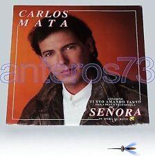 """CARLOS MATA """"SENORA"""" RARE LP ITALIAN SUNG - SEALED"""