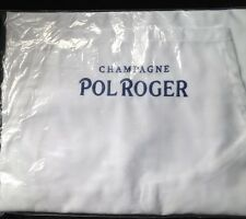 POL ROGER CHAMPAGNE FULL COVER APRON WITH BIB AND POCKET BNI BAG .