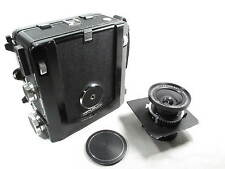 WISTA 45 4X5 METAL FIELD CAMERA W/SCHNEIDER 90mm LENS L@@K