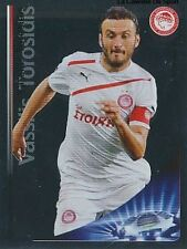 N°137 VASSILIS TOROSIDIS GREECE OLYMPIACOS CHAMPIONS LEAGUE 2013 STICKER PANINI