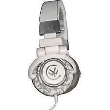 Urbanz Flash DJ Style Full Over Ear Stereo Swivel Headphones New - Grey & White