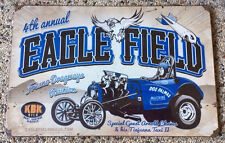 Fuel Altered Tiajuana Taxi Eagle Field Fresno Dragways Reunion 12x18 Metal Sign
