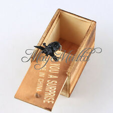 Trick Prank Toy Lifelike Animal Hidden in Wooden Box Case Surprise Shock Joke  タ