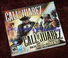 Call of Juarez 2-game combo-pack (PC-DVD) BRAND NEW & SEALED  1 + Bound in Blood