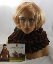 Handmade LION BRAND Official Outlander INVERNESS INFIN Scarf Cowl SEQUOIA Thick
