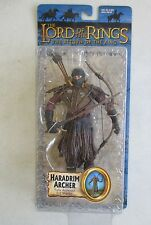 MOC 2003 TOY BIZ LORD OF THE RINGS RETURN OF KING HARADRIM ARCHER ACTION FIGURE