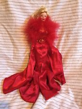 Hollywood Cast Party 2001 Barbie Doll Collectors Edition Blonde Red Dress